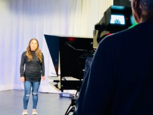 PSA production in progress at CTV.